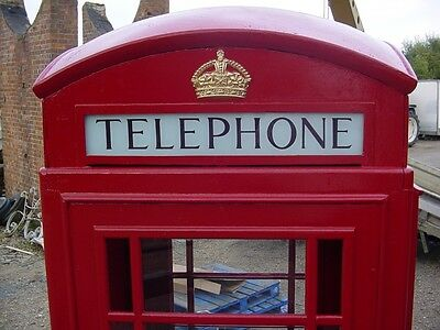 RED TELEPHONE BOX , BOOTH, KIOSK, ORIGINAL K6 for sale  United Kingdom
