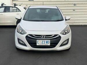 2012 Hyundai i30 GD Elite White 6 Speed Automatic Hatchback