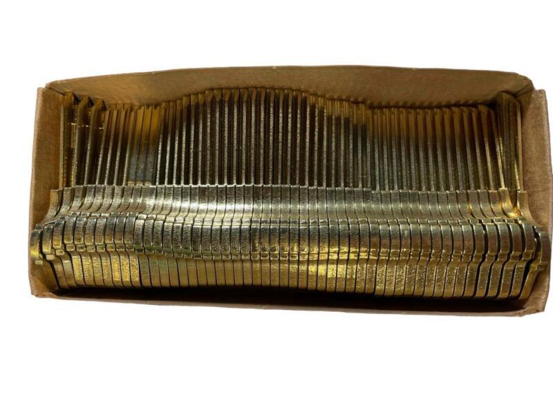 NEW Box of 50 Schlage Allegion Blank Keys 35 002 EV 468 C345