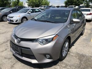 2015 Toyota Corolla – Bluetooth, Backup Camera, Moonroof