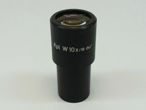 Zeiss Kpl W 10X/18 Microscope Eyepiece