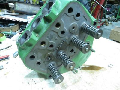 John Deere Late B Cylinder Head B2501r Redone Ready To Go.