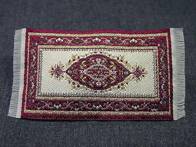 """2""""x3"""" #23  Heidi Ott Dollhouse Miniature Rug Woven Rug Floor Carpet"""
