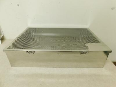 Stainless Steel Medical Instrument Sterilization Tray- 20.5 X 13.25 X 4.75 H