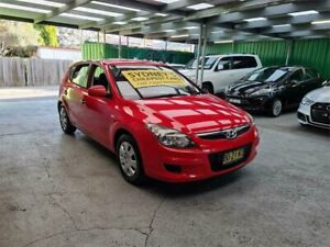 2011 Hyundai i30 FD MY11 SX Red 4 Speed Automatic Hatchback Croydon Burwood Area Preview