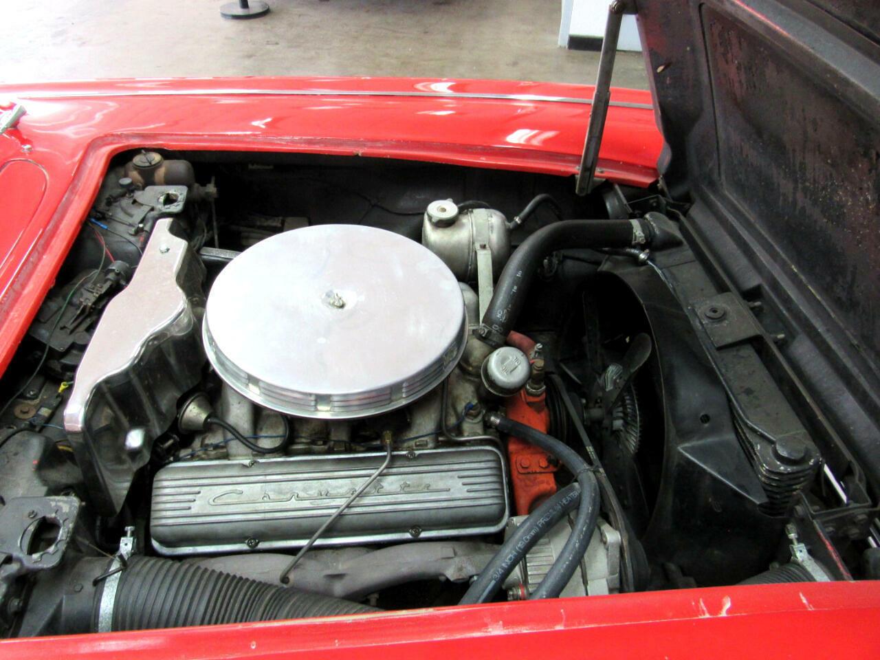 1962 Red Chevrolet Corvette Convertible    C1 Corvette Photo 10