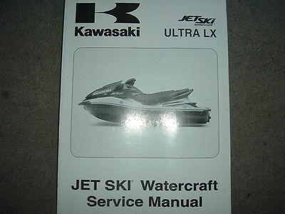 kawasaki ULTRA LX jet ski watercraft service manual NEW