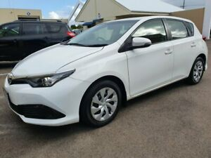 2017 Toyota Corolla ZRE182R MY15 Ascent White 7 Speed CVT Auto Sequential Hatchback Marcoola Maroochydore Area Preview