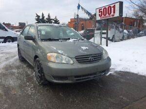 2003 Toyota Corolla AUTO,222K,$2488,SHIPPERS SPECIAL