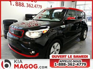 2016 Kia SOUL EV LUXURY / VOLANT  / SIEGES CHAUFFANTS  / GPS
