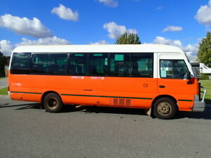 Toyota Coaster Bus Welshpool Canning Area Preview