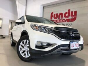 2016 Honda CR-V EX-L w/leather, power driver seat ONE LOCAL OWNE