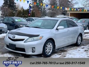 2010 Toyota Camry HYBRID LIMITED FULL SERVICE HISTORY