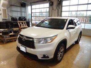 2014 Toyota Highlander LE Spacious
