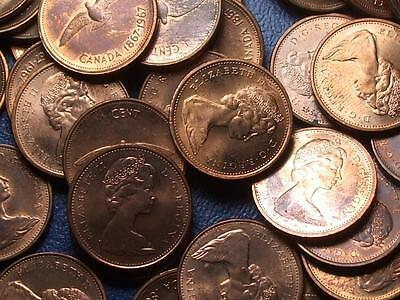1967 CANADIAN SMALL CENTS QUEEN ELIZABETH II       BUY ONE OR BUY THEM ALL