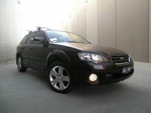 2004 Subaru Outback B4A MY04 R AWD Premium Pack Black Metallic 5 Speed Sports Automatic Wagon