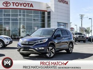 2015 Honda CR-V TOURING, SUNROOF, ALLOYS, POWER SEAT Look at the