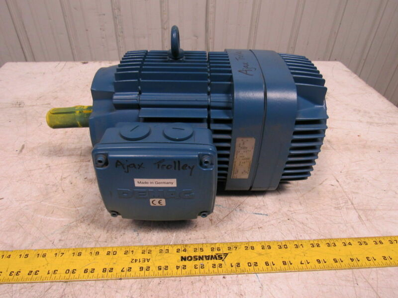 Mannesmann Demag KBF112A4 1.95HP 3PH 230/460V 1660RPM Electric Brake Motor