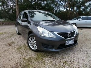 2013 Nissan Pulsar C12 ST Grey 1 Speed Constant Variable Hatchback Bayswater North Maroondah Area Preview