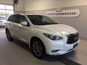 2014 Infiniti QX60 TECH+DVD+CUIR+GPS NEVER ACCIDENTED