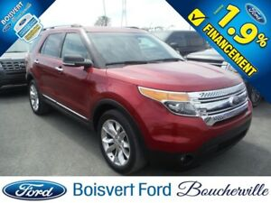 2014 Ford Explorer XLT CUIR GPS 7 PASSAGER