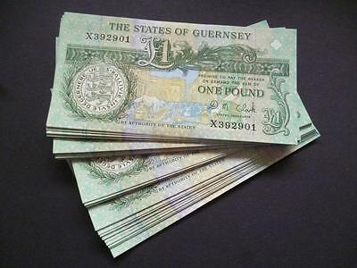 A STATES OF GUERNSEY ONE POUND NOTE IN UN-CIRCULATED MINT CONDITION GUERNSEY£1.