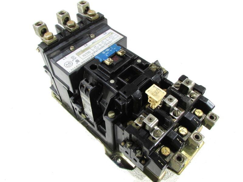 * ALLEN BRADLEY 509-DOD SIZE 3 MOTOR STARTER COIL 115-120 VAC 90 HP 45 AMP MAX #