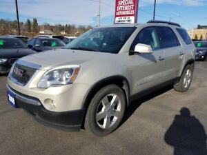 2008 GMC Acadia SLT CLEAN CAR PROOF !!  LOCAL TRADE IN !!  AW...