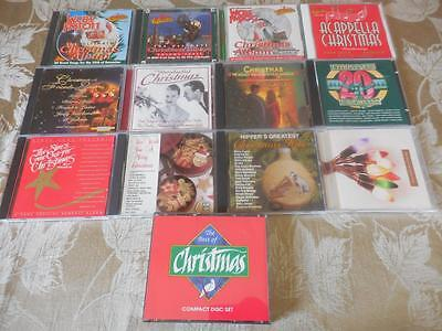 14 CD's ALL Christmas Classic Mid-Century Country All LIKE NEW #21