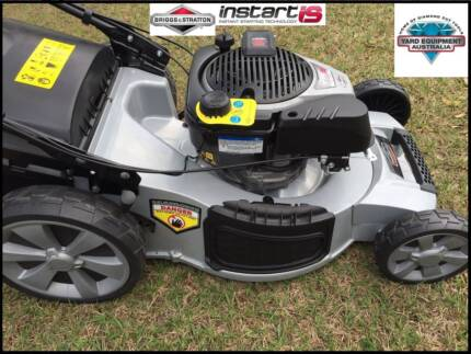 "21"" Electric Start Alloy Deck 4in1 SELF PROPELLED Mower 161cc Bulimba Brisbane South East Preview"