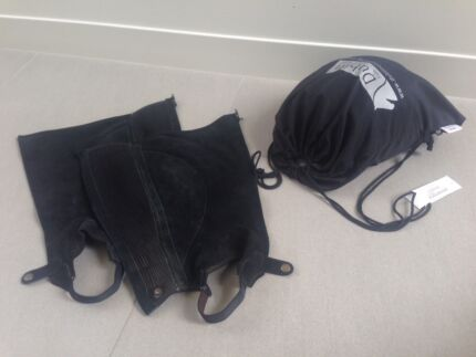 Horse Riding Helmet, Half Chaps and Gloves Balwyn Boroondara Area Preview