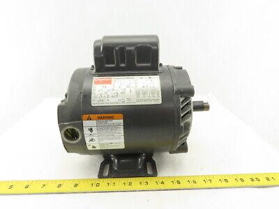 Dayton 5k110v 12hp Ac Electric Motor 1725rpm 56c Frame 115230v Single Phase