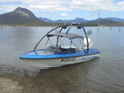 Pride Panther ski boat 200hp project