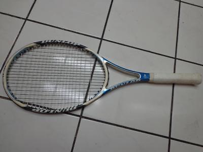 Dunlop Aerogel 200 95 head 18x20 4 1/4 grip Tennis Racquet for sale  Shipping to India