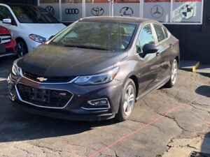 2016 Chevrolet Cruze LT RS PACKAGE CAM BLUETOOTH APPLE CONF