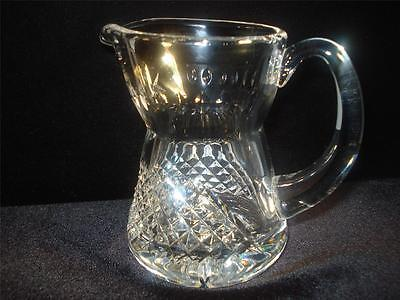 "WATERFORD CUT CRYSTAL CREAMER / JUG ""ALANA"" PATTERN EXCELLENT CONDITION on Rummage"
