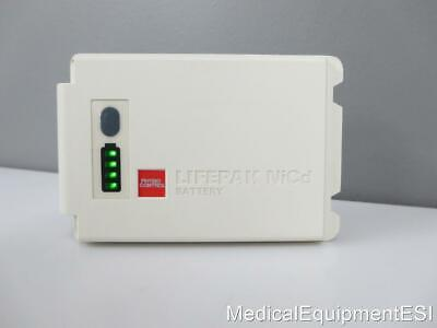 Physio-control Lifepak 12 Nicd Rechargeable Battery With Fuel Gauge