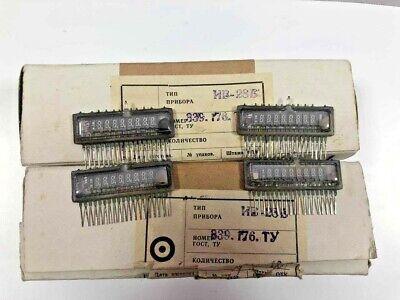 10pcs Iv-28 Vfd Digit Display Tube For Clock Russian Nos Same Data New