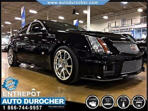 2011 Cadillac CTS-V Sedan 6.2L - 673 HP - TOIT PANORAMIQUE - CAM
