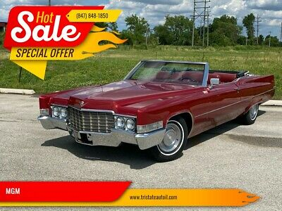 1969 Cadillac DeVille NUMBER MATCH 472 FULLY LOADED 1969 Cadillac DeVille NUMBER MATCH 472 FULLY LOADED