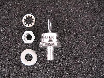 40hf60 40a 600v High Power Rectifier. Factory New. Nib. America Semiconductor