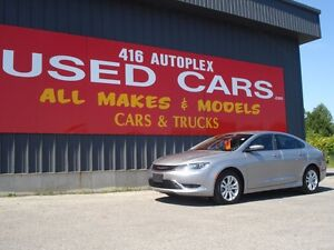2016 Chrysler 200 C Leather only 245kms