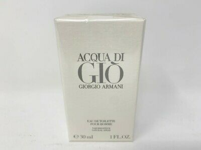 Sealed, NIB Giorgio Armani Acqua di Gio 1.0 oz EDT for Men
