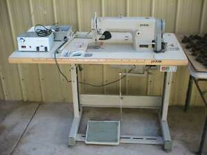 PROTEX TY-C111-7 INDUSTRIAL SEWING MACHINE, STAND, NEEDLES ETC Austral Liverpool Area Preview