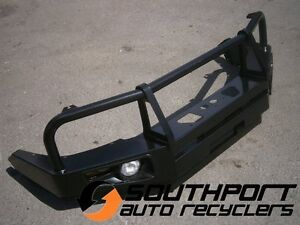 TOYOTA HILUX BULL BAR WINCH BAR WITH LIGHTS SUIT 2011 ONWARDS MODELS