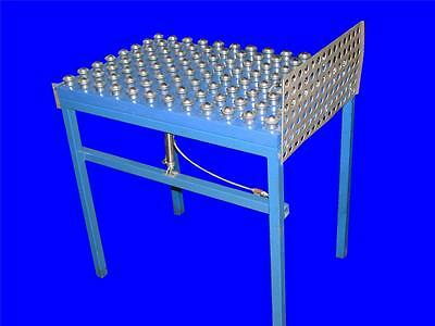 Very Nice 24 X 36 Pnuematic Tilt Table W Ball Bearing Platform 4-12 Travel