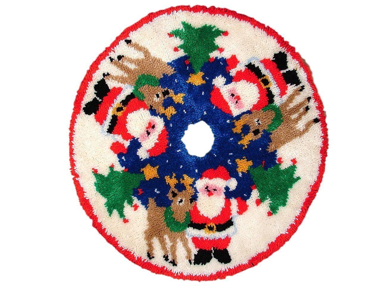 Vintage Christmas Tree Skirt For Sale Ebay