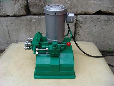 Simplex Hydraulic Pump 10000 Psi 120 Volts Works Fine 1
