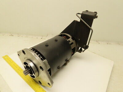 Advanced Dc 07988267 36vdc Forklift Motor W Left Side Brake Assembly