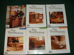 Taunton's Fine Woodworking Magazine 120+ to Choose From
